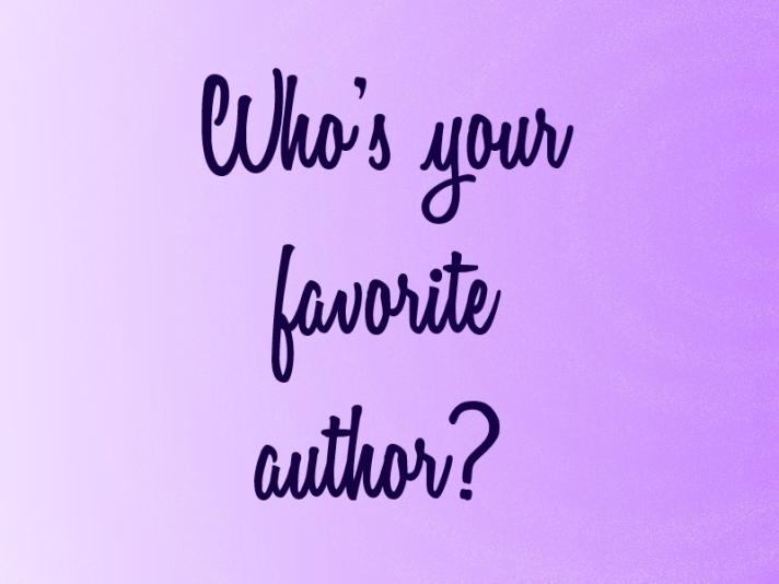 favorite author